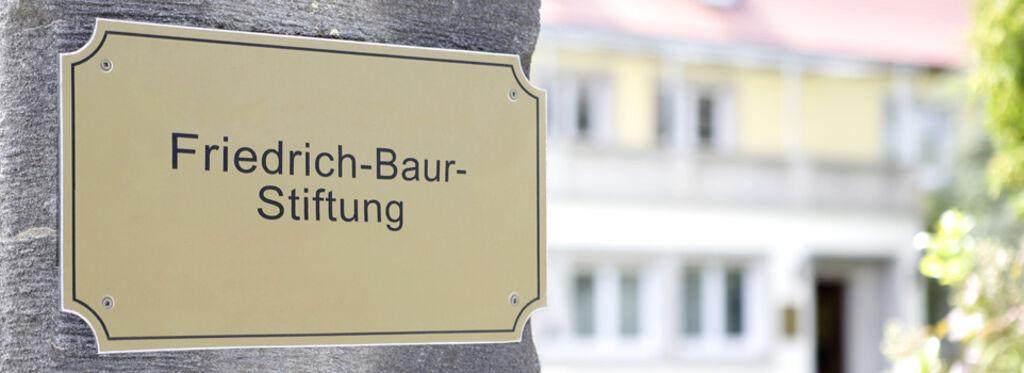 23e77d96e00 Dr. Friedrich-Baur-Stiftung - Die BAUR-Gruppe