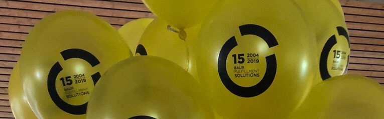 15 Jahre BFS Baur Fulfillment Solutions